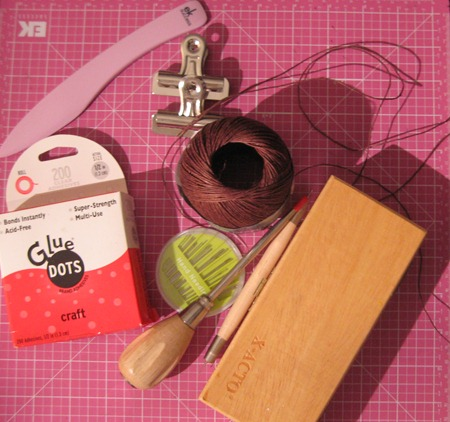 Some Bookbinding Supplies