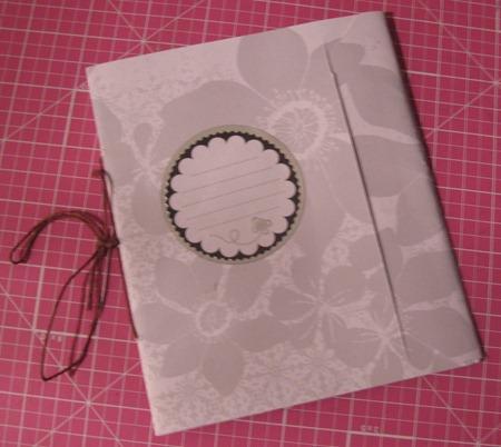 My Journal, Stitched