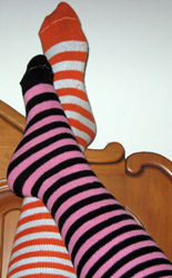 my striped feet