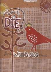 My Official Writing Blog (the hard copy) Cover